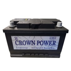 Crown UniEnergy 3 74ah accu